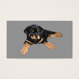 Rottweiler Breeder Business Card