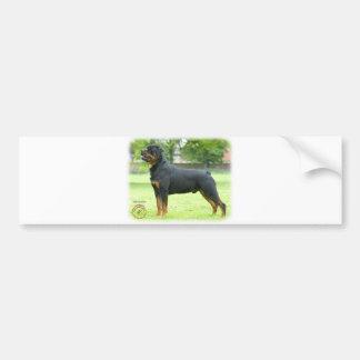 Rottweiler Car Bumper Sticker