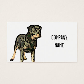 Rottweiler business cards