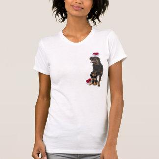 Rottweiler Christmas Nightshirt T Shirt