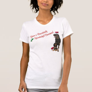 Rottweiler Christmas Nightshirt - New Design T-Shirt