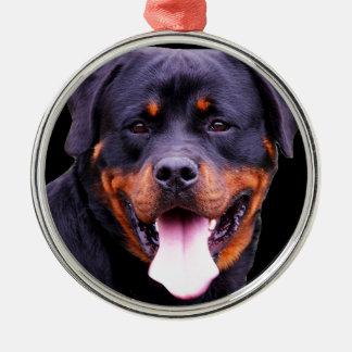 """Rottweiler"" Christmas Ornament"