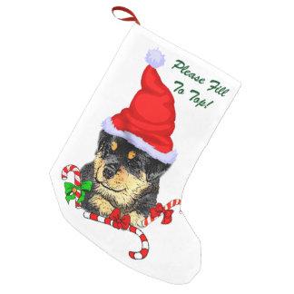 Rottweiler Christmas Small Christmas Stocking