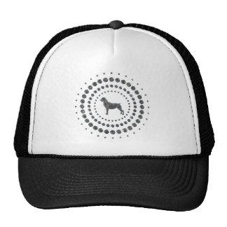 Rottweiler Chrome Studs Cap