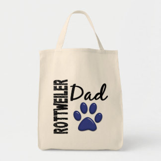 Rottweiler Dad 2 Canvas Bags