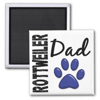 Rottweiler Dad 2 Square Magnet