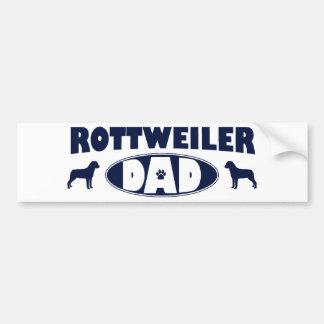 Rottweiler Dad Bumper Sticker