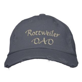 Rottweiler DAD Embroidered Hat