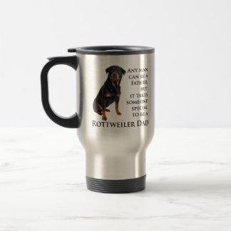 Rottweiler Dad Mug Coffee Mugs