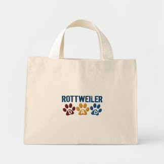 ROTTWEILER Dad Paw Print 1 Bags