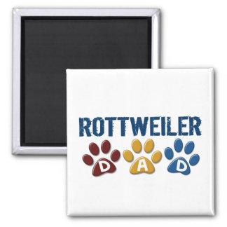 ROTTWEILER Dad Paw Print 1 Refrigerator Magnets