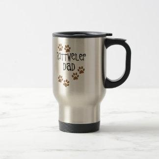 Rottweiler Dad Travel Mug