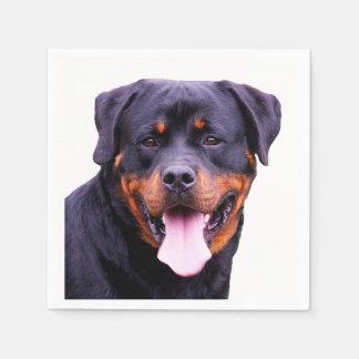"""Rottweiler"" design paper napkins Disposable Napkin"