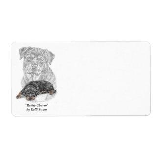 Rottweiler Dog Art