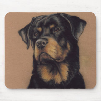 """Rottweiler"" Dog Art Mousepad"