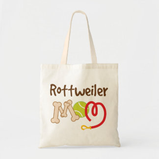 Rottweiler Dog Breed Mom Gift Budget Tote Bag