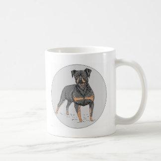 Rottweiler Dog Coffee Mug
