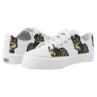 Rottweiler dog low tops