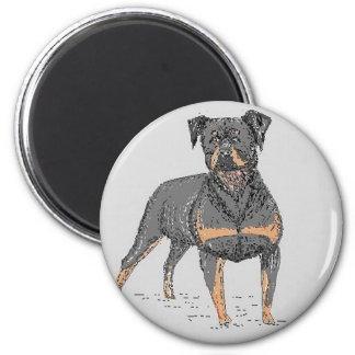 Rottweiler Dog Magnet