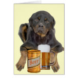 Rottweiler Don't Touch My Beer Cards