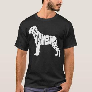 rottweiler font T-Shirt