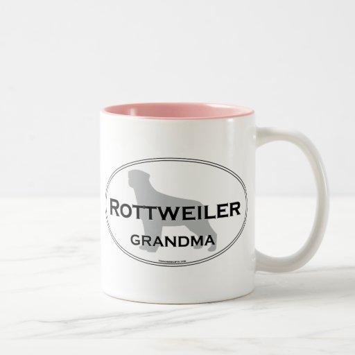 Rottweiler Grandma Mug