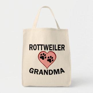 Rottweiler Grandma Tote Bag