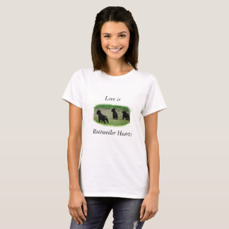 Rottweiler Hearts T-Shirt