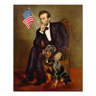 Rottweiler  - Lincoln Print