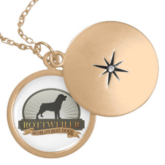 Rottweiler Locket Necklace