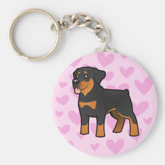Rottweiler Love Key Ring