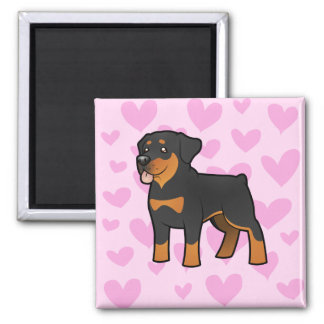 Rottweiler Love Magnet