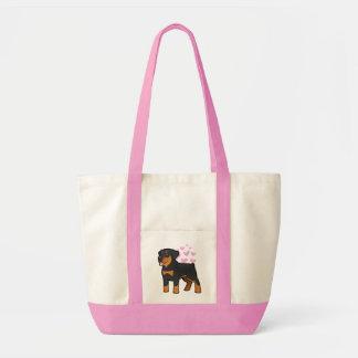 Rottweiler Love Tote Bag