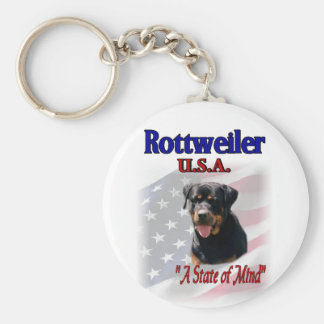 Rottweiler Lovers Gifts Key Ring