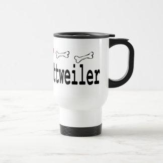 Rottweiler Lovers Gifts Travel Mug