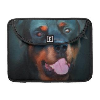 Rottweiler MacBook case Sleeve For MacBooks