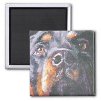 Rottweiler magnet by L.A.Shepard