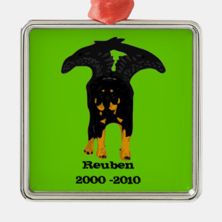 Rottweiler Memorial Ornament