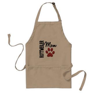 Rottweiler Mom 2 Apron