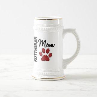 Rottweiler Mom 2 Beer Steins