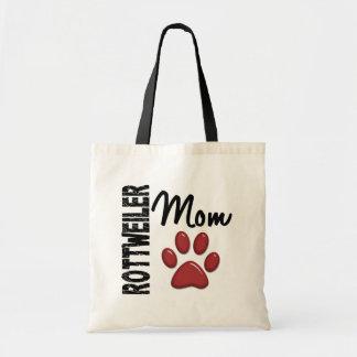 Rottweiler Mom 2 Budget Tote Bag