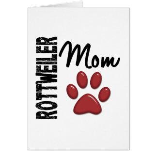 Rottweiler Mom 2 Cards