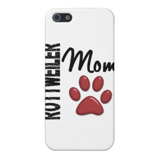 Rottweiler Mom 2 iPhone 5 Case