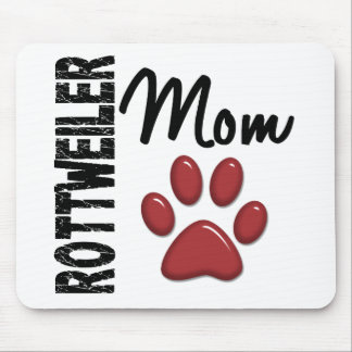 Rottweiler Mom 2 Mouse Pad