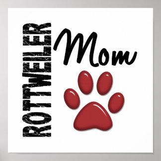 Rottweiler Mom 2 Print