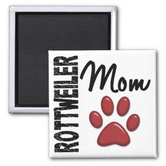 Rottweiler Mom 2 Refrigerator Magnet