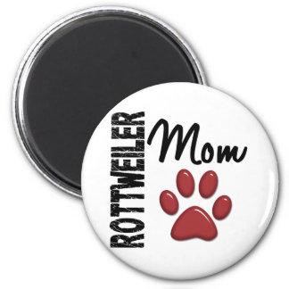 Rottweiler Mom 2 Refrigerator Magnets