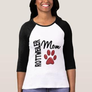 Rottweiler Mom 2 T Shirt