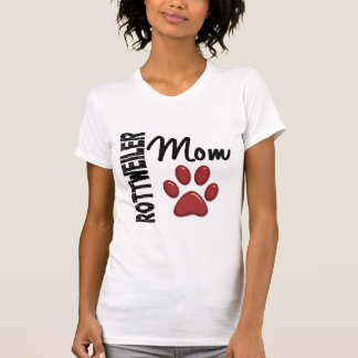 Rottweiler Mom 2 Tee Shirts