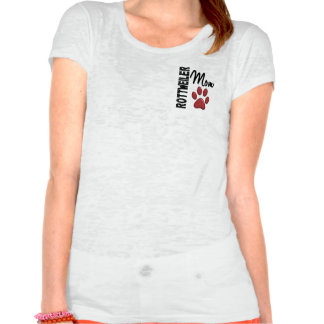 Rottweiler Mom 2 Tshirts